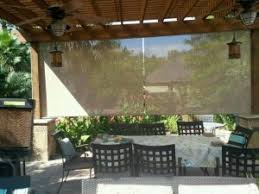 Patio Roll Down Shades Roll Shades U2013 Discount Solar Screens Serving Houston The