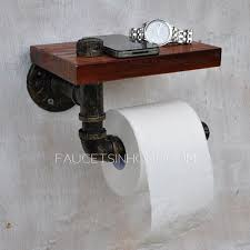 bathroom toilet paper holders antique bronze wood wrought roll toilet paper holder