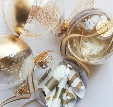 affordable gold dipped ornaments allfreechristmascrafts