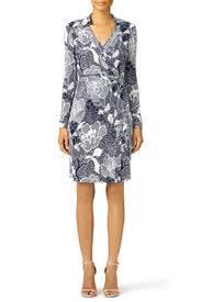 dvf wrap dress navy new jeanne wrap dress by diane furstenberg for 70 rent