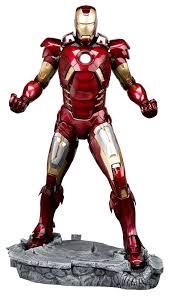 amazon com kotobukiya avengers movie iron man mark vii artfx