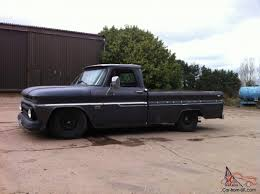 chevy c10 pick up pickup 350 v8 4 speed manual lowered pas