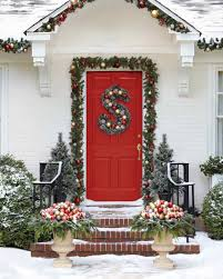 Christmas Outdoor Decor by How To Make A Wreath Martha Stewart
