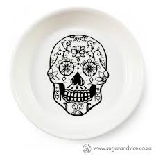 skull handcrafted ceramic bowl online sugar and vice cape town