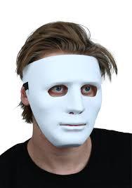 plain mask deluxe white blank mask