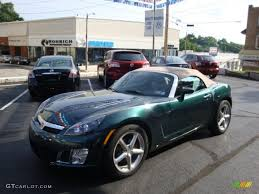 saturn sky red 2007 forest green saturn sky red line roadster 31850907
