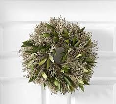 fresh wreaths fresh wreaths garlands pottery barn