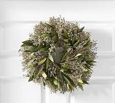 fresh christmas wreaths fresh wreaths garlands pottery barn
