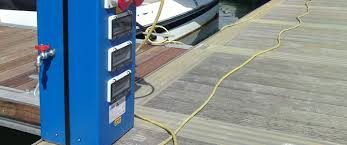 Electrical Service Pedestal Marina Water Systems Rolecserv
