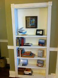 Swinging Bookcase Turn A Bookcase Into A Secret Door Diy Projects For Everyone