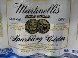 bulk sparkling cider martinelli s sparkling cider costco vs target