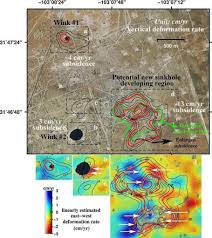Smu Map Two Giant Sinkholes At Risk Of Colliding In Texas Claim
