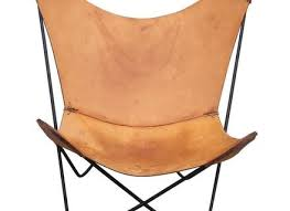 Vintage Butterfly Chair Leather Butterfly Chair By Jorge Ferrari Hardoy For Knoll At