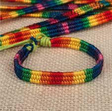 friendship bracelet rainbow images Psychedelicfabrics rainbow festival friendship bracelet jpg