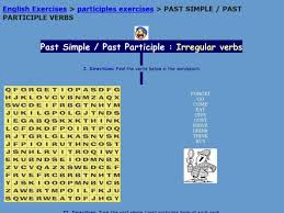 past simple past participle irregular verbs 3rd 6th grade