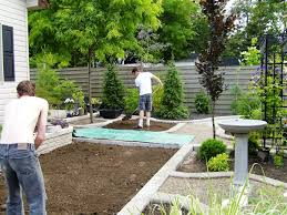 fence ideas for small backyard decor tips backyard fence ideas and diy splash pad for small