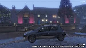peugeot 206 tuning peugeot 206 4 door gta5 mods com