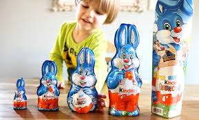 big easter bunny 5 different kinder easter bunnies some kinder eggs and
