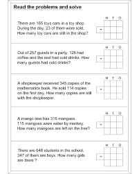word problems worksheets u2013 wallpapercraft