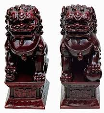 yellow foo dogs13th birthday ideas feng shui classical protection symbol fu dogs