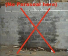 Interior Basement Wall Waterproofing Membrane Paraseal Membrane Protection For The Basement Foundation Walls