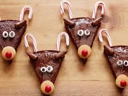 christmas reindeer christmas reindeer brownies recipe food network kitchen food