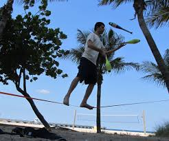 slackline 7 steps with pictures