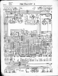1960 chevrolet wiring diagrams v8 and l6 engines