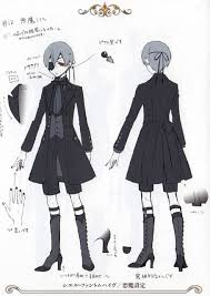 Black Butler Halloween Costumes Black Butler Ciel Phantomhive Black Devil Cosplay Costume