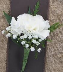 boutonniere prices b7 21 single carnation with babies breath boutonniere in seguin