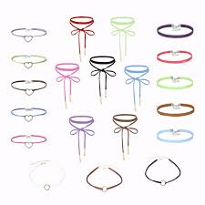 online buy wholesale gothic design style from china gothic design 20 pcs special design gothic chokers set fashion style choker handmade necklace long velvet collar necklace