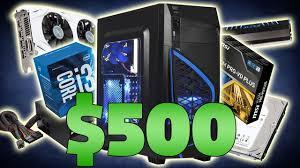 gaming desktops black friday 500 gaming pc build november 2016 black friday sale youtube