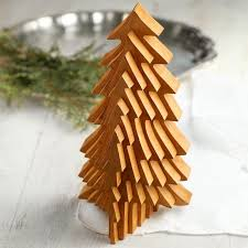 collapsible christmas tree collapsible 3d wood tree table decor home decor