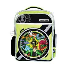 ben 10 ultimate alien bag green colour