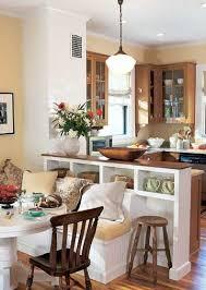 breakfast room banquette ideas half walls kitchens and walls