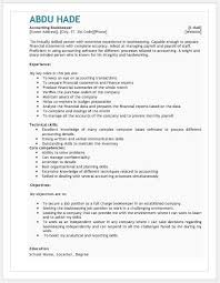 Bookkeeper Resume Sample by Accounting Bookkeeping Resume Contents Layouts U0026 Templates