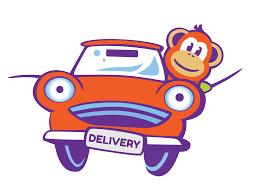 same day local delivery monkey fish toys