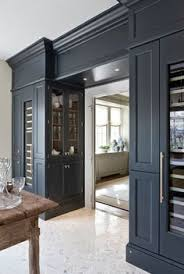Smart Open Storage With A Custom Ikea Pantry Floor To Ceiling Open Storage Butlers Pantry Love The Pendant
