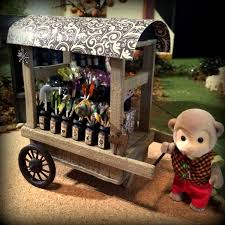 Miniature Halloween Ornaments by Halloween Candy Wagon Mimi U0027s Little Sylvanian Town