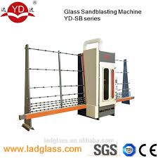 automatic glass sandblasting machine automatic glass sandblasting