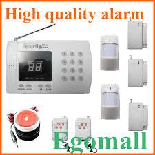 pstn and gsm wireless burglar alarm security system anti thief