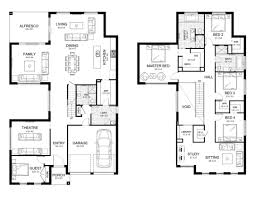 small house floor plans philippines modern two storey house designs design with floor plan elevation