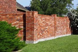 garden brick wall design ideas modern brick wall fence designs dr house