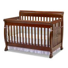 Davinci Emily 4 In 1 Convertible Crib Kalani 4 In 1 Convertible Sleigh Crib In Cherry M5501c By Davinci