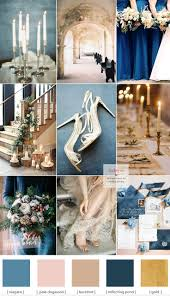 gold wedding theme blue and gold wedding theme for winter wedding