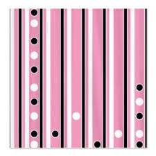 White With Pink Polka Dot Curtains Shop Black Polka Dot Shower Curtain On Wanelo