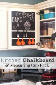 221 best all things chalkboard images on pinterest chalkboard rootandblossom kitchen chalkboard measuring cup rack