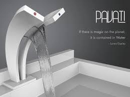 waterfall kitchen faucet pavati dual waterfall faucet