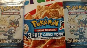 Can Blind People See The Taste Of Cinnamon Toast Crunch Cinnamon Toast Crunch Pokemon Cards Pokemon Booster Packs In