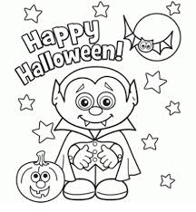 easy halloween coloring pages draw print free download